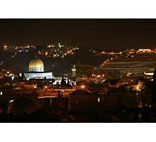 The old city jerusalem. Photographic Print