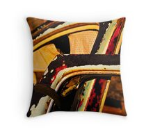 A Car with Issues. Throw Pillow
