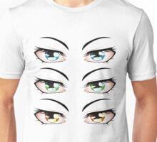 Cartoon male eyes 3 Unisex T-Shirt