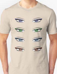 Cartoon female eyes Unisex T-Shirt