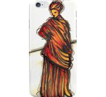 lady in wet drapery iPhone Case/Skin
