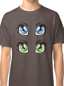Cartoon female eyes 2 Classic T-Shirt