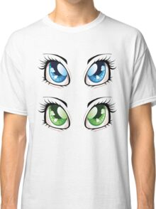Cartoon female eyes 2 Classic T-Shirt