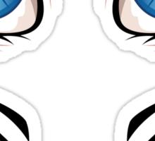Cartoon female eyes 2 Sticker