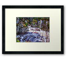 Laggan Falls Framed Print
