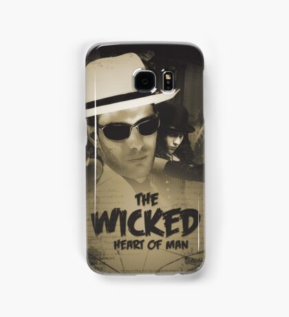 The Wicked Heart of Man Samsung Galaxy Case/Skin