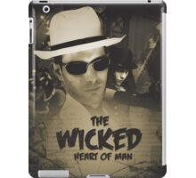 The Wicked Heart of Man iPad Case/Skin