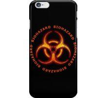 Biohazard Zombie Warning iPhone Case/Skin