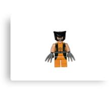 LEGO Wolverine Canvas Print