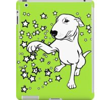 English Bull Terrier Giving a Paw iPad Case/Skin