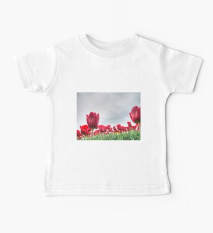 Red tulips 4 Baby Tee