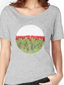 Red tulips 2 Women's Relaxed Fit T-Shirt