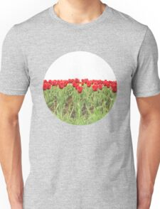 Red tulips 2 Unisex T-Shirt