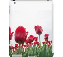 Red tulips 5 iPad Case/Skin