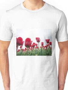 Red tulips 5 Unisex T-Shirt