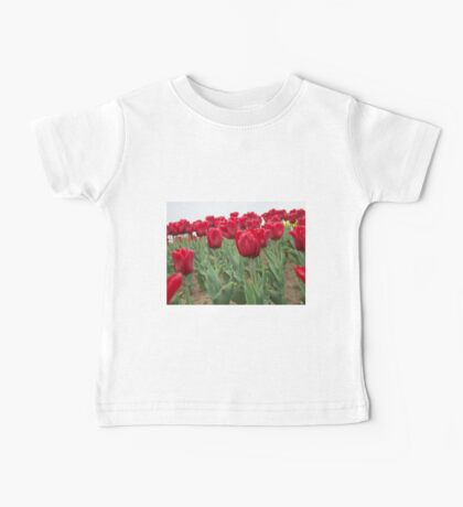 Red tulips 6 Baby Tee