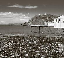 Royal Pier Aberystwyth by mlphoto