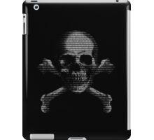 Hacker Skull and Crossbones iPad Case/Skin