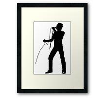 Freddie Silhouette  Framed Print