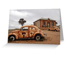 The Outback Art Gallery, Silverton, NSW, Australia Greeting Card