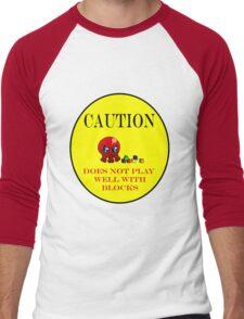 Tako-Chan Does Not Play Well.. Men's Baseball ¾ T-Shirt