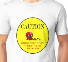 Tako-Chan Does Not Play Well.. Unisex T-Shirt