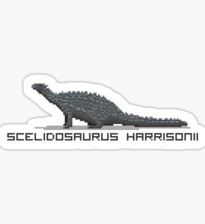 Pixel Scelidosaurus Sticker