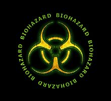 Biohazard Zombie Warning by Packrat