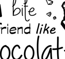You Bite Your Friend Like Chocolate The 1975 Lyrics Sticker