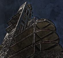 Hall Tower I by J. Sprink