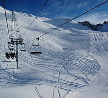 French Alps 7 by Sarah Verrall