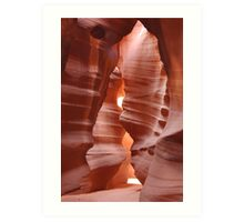 Slot Canyon Art Print