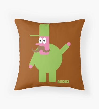 The Waving Man Throw Pillow