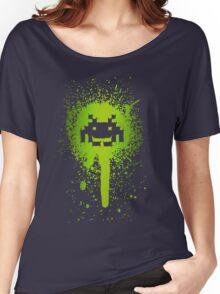 Space Blotch (Green ver.) Women's Relaxed Fit T-Shirt