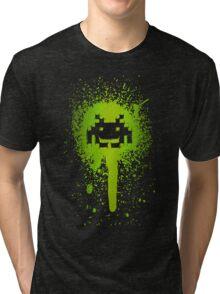 Space Blotch (Green ver.) Tri-blend T-Shirt