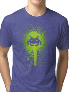 Space Blotch (Green ver.) Tri-blend T-Shirt
