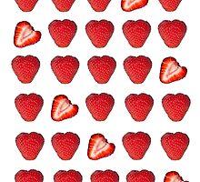 Strawberry Kisses by Denise Abé