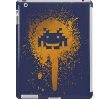 Space Blotch (Orange ver.) iPad Case/Skin