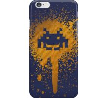 Space Blotch (Orange ver.) iPhone Case/Skin