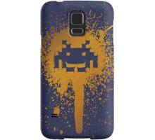 Space Blotch (Orange ver.) Samsung Galaxy Case/Skin