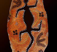 """Goanna Dreamtime"" by Skye Ryan-Evans"