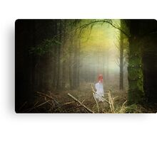 Lady of the woods part III Canvas Print