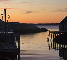 Peggy's Cove Dusk by Scott Ruhs