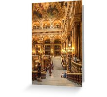 Opera House, Paris 4 Greeting Card