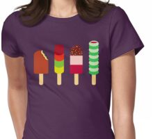 Quadruple Icelollies Womens Fitted T-Shirt