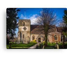 St Mary Kintbury Canvas Print
