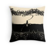 A Tale of Infinite Cities (Landscape) Throw Pillow