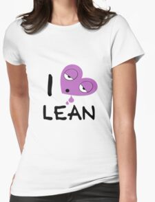 I love lean Womens Fitted T-Shirt