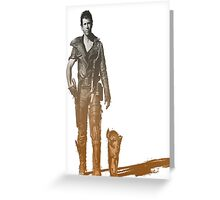 Mad Max Road warrior Greeting Card