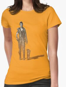 Mad Max Road warrior Womens Fitted T-Shirt